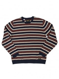 BILLABONG svetr CALI STRIPE NAVY