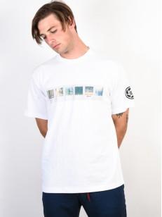 ELEMENT tričko JAAKO OPTIC WHITE