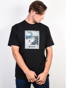 ELEMENT tričko NASSIM FLINT BLACK