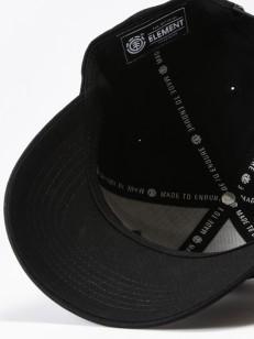 ELEMENT kšiltovka TREELOGO FLINT BLACK