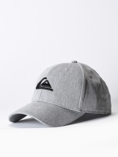 QUIKSILVER kšiltovka DECADES MEDIUM GREY HEATHER