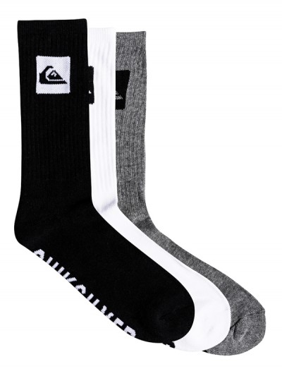 QUIKSILVER ponožky CREW 3PACK