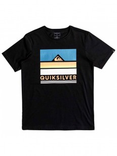 QUIKSILVER triko LOUD PLACES BLACK