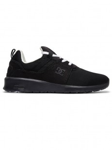 DC boty HEATHROW BLACK/WHITE/BLACK