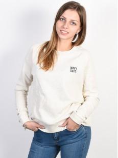 ROXY mikina HOPE TO LOVE METRO HEATHER