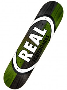 REAL doska DOUBLE DIP OVAL BLK/GRN