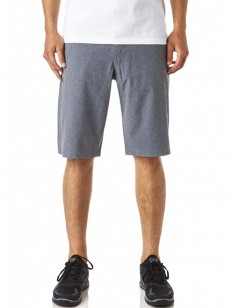 FOX kraťasy ESSEX TECH STRETCH Charcoal Heather