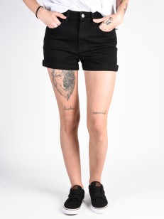VANS kraťasy HIGH RISE CUFF Black