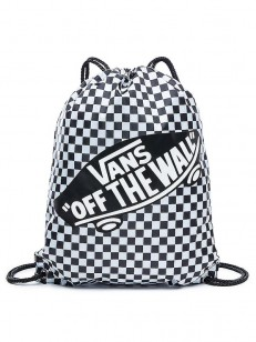 VANS vak BENCHED Black/White Checkerboard
