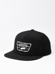VANS kšiltovka FULL PATCH BARBED Black