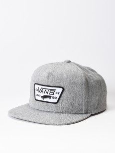 VANS kšiltovka FULL PATCH Heather Grey