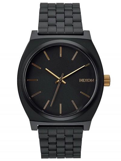 NIXON hodinky TIME TELLER MATTEBLACKGOLD