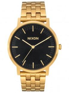 NIXON hodinky PORTER ALLGOLDBLACKSUNRAY