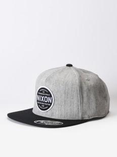 NIXON kšiltovka LAZARO 110 BLACK