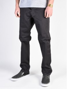 FOX kalhoty STRETCH CHINO Black Vintage