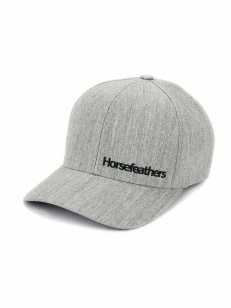 HORSEFEATHERS kšiltovka BECKETT heather gray