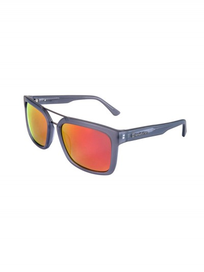 HORSEFEATHERS sluneční brýle CARTEL matt gray/mirr