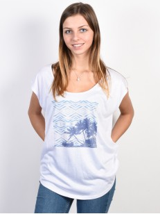 RIP CURL triko ENDLESS SUMMER WHITE