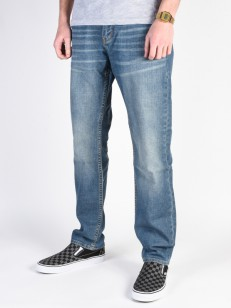 RIP CURL kalhoty B-TURN DENIM STRAIGHT VINTAGE WAS
