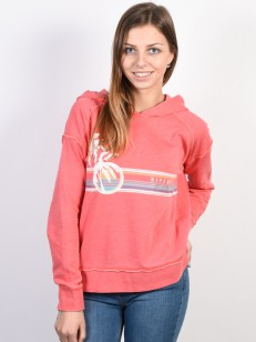 RIP CURL mikina ENDLESS SUMMER FLEECE FRAGOLA