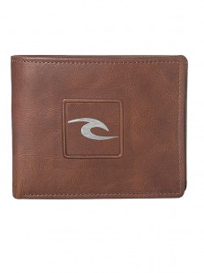 RIP CURL peněženka RIDER RFID ALL DAY BROWN