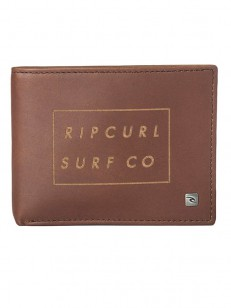 RIP CURL peněženka SURF CO ALL DAY BROWN