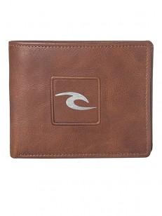 RIP CURL peněženka RIDER 2 IN 1 BROWN