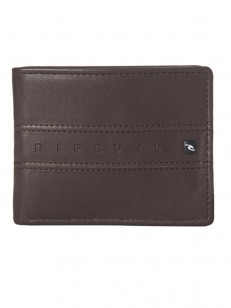 RIP CURL peněženka WORD BOSS PU ALL DAY BROWN