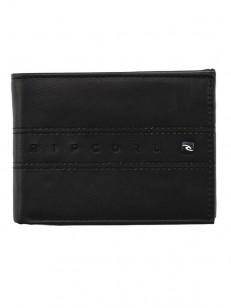 RIP CURL peněženka WORD BOSS PU ALL DAY BLACK