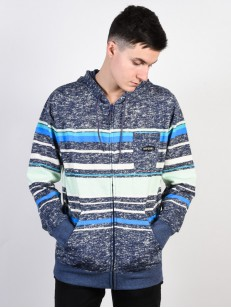 RIP CURL mikina RETRO FLEECE BLUE INDIGO MAR
