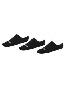 RIP CURL ponožky INVISIBLE 3P BLACK