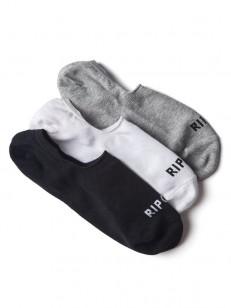RIP CURL ponožky INVISIBLE 3P CLASSIC
