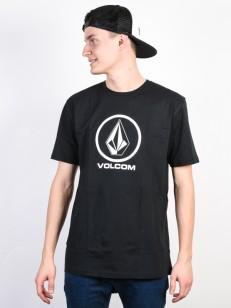 VOLCOM tričko CRISP Black
