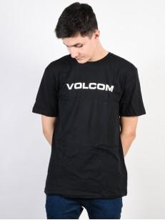 VOLCOM tričko CRISP EURO Black