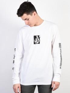 VOLCOM tričko PIXEL STONE White