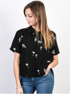 VOLCOM košile WHAT YOU NEED Black