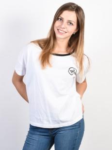 VOLCOM tričko SIMPLY STONED White