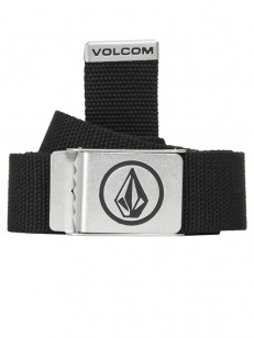 VOLCOM pásek CIRCLE WEB Black