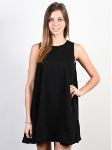 BILLABONG šaty ESSENTIAL BLACK