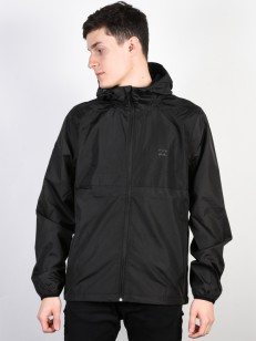 BILLABONG bunda TRANSPORT WINDBREAKER BLACK