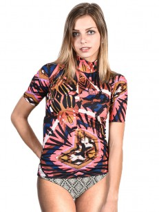 BILLABONG lycra triko SURF CAPSULE TRIBAL