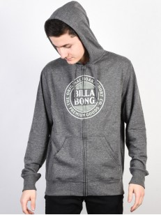 BILLABONG mikina DANAPOINT DARK GREY HEATHER