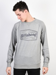 BILLABONG mikina LABREA GREY HEATHER