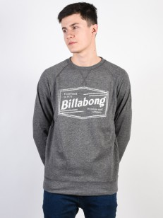 BILLABONG mikina LABREA DARK GREY HEATHER