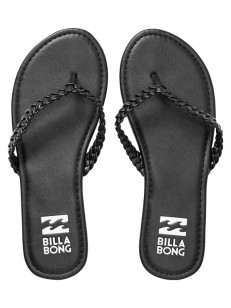 BILLABONG žabky BEACH BRAID BLACK