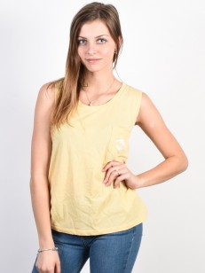 BILLABONG tričko SKYWAY MELLOW YELLOW