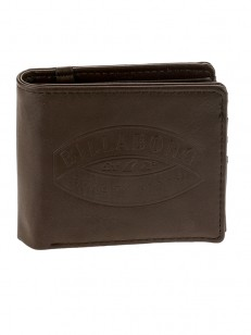 BILLABONG peněženka JUNCTION CHOCOLATE