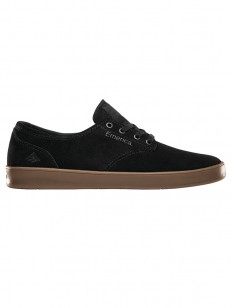 EMERICA boty THE ROMERO LACED BLACK/CHARCOAL/GUM