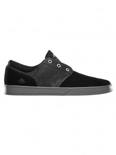 EMERICA boty THE FIGUEROA BLACK/GREY/SILVER
