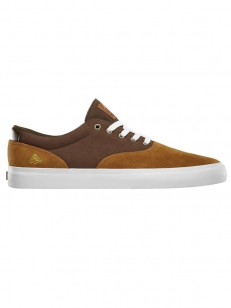 EMERICA boty PROVOST SLIM VULC TAN/BROWN/WHITE